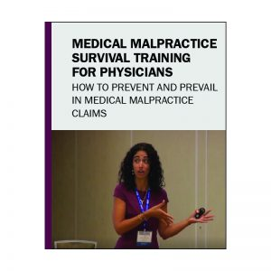 This clip is an excerpt of SEAK's streaming course, Medical Malpractice Survival Training for Physicians