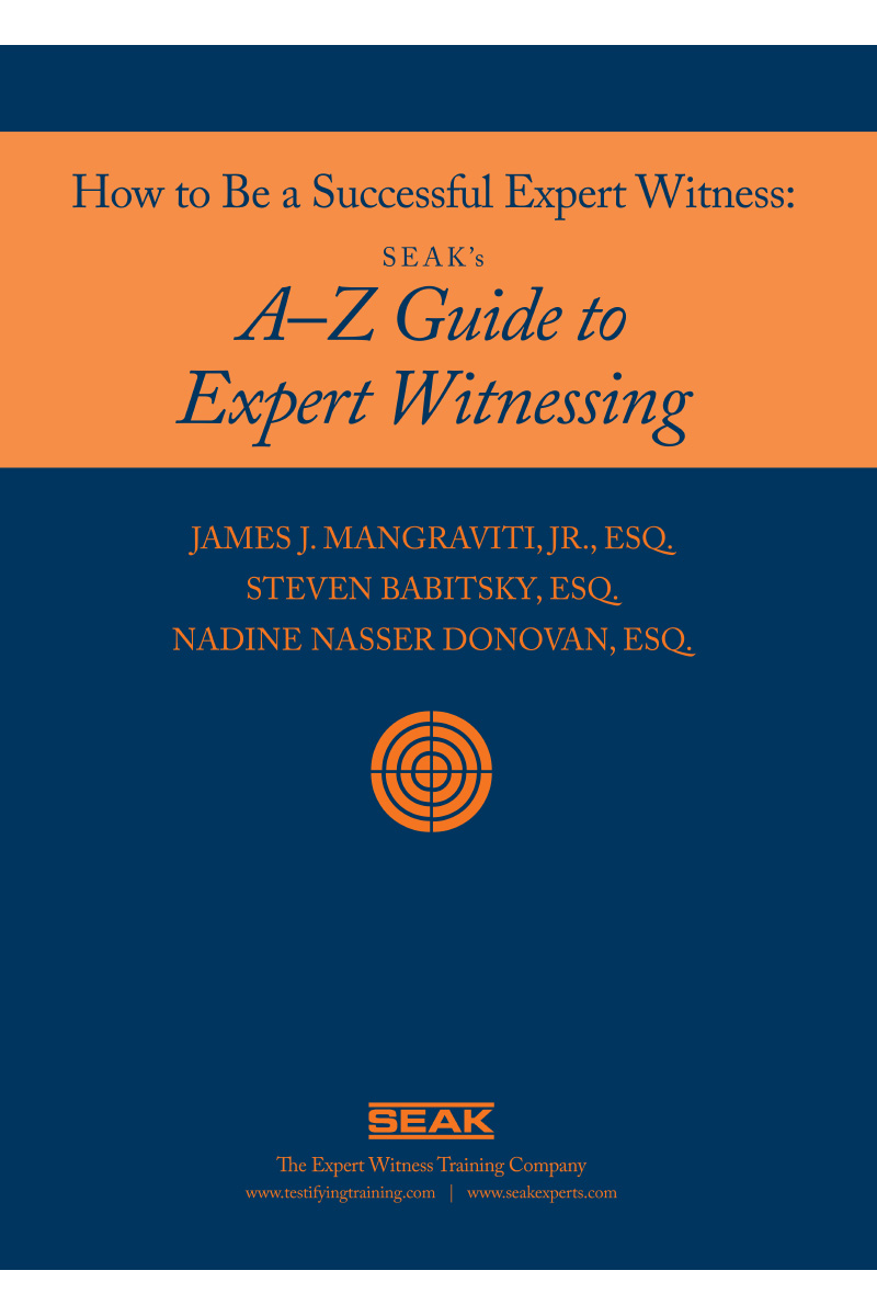 How to Be a Successful Expert Witness