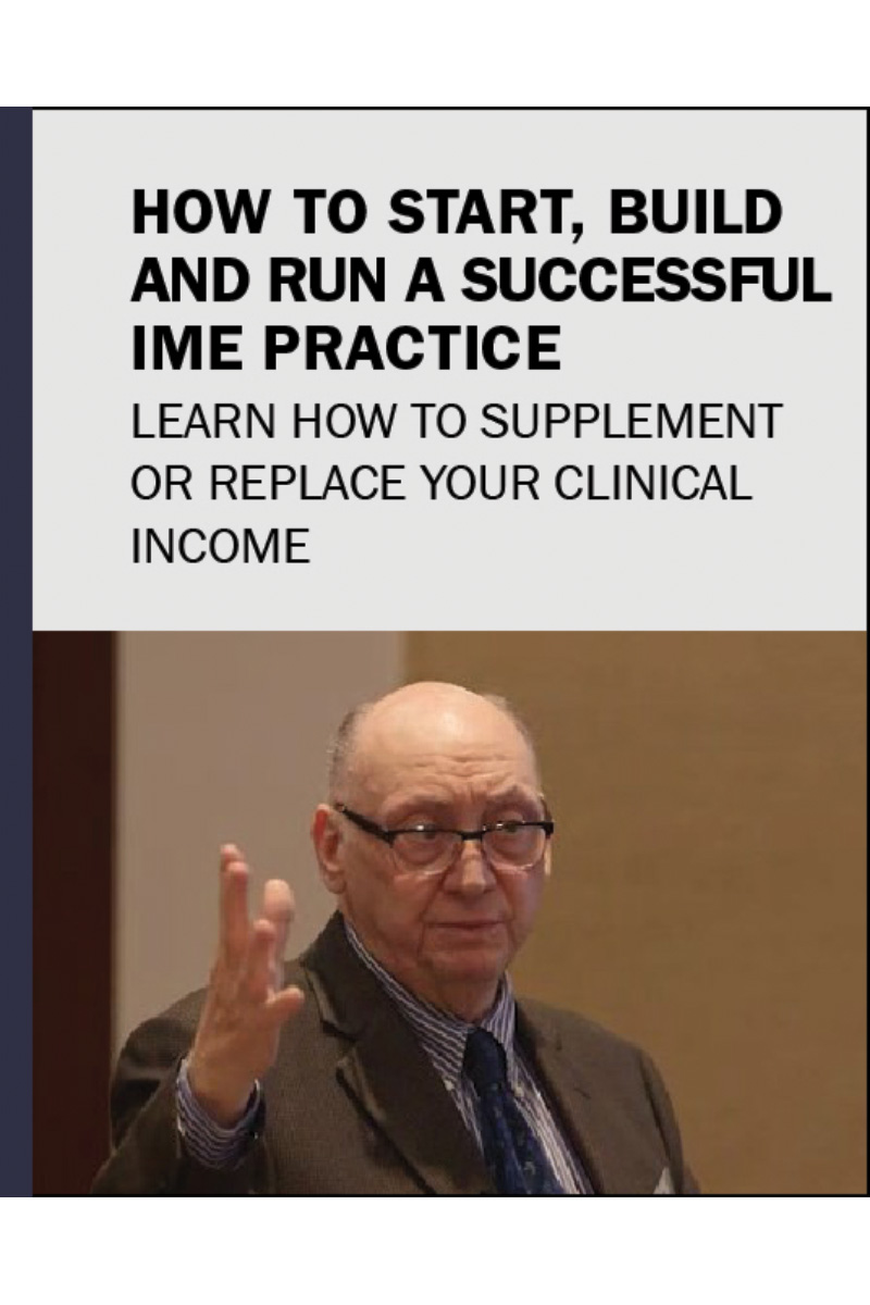 How to Start, Build, and Run a Successful IME Practice